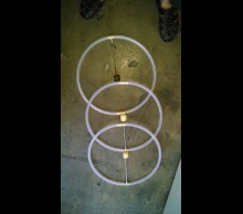 Isolation fire Hoops