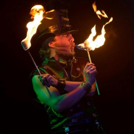 Flamewater Circus Hollow Torches