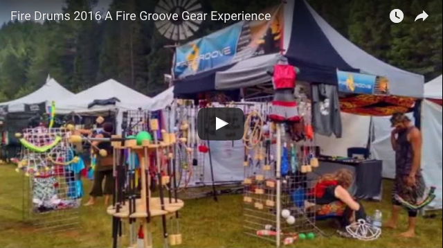 Fire Groove Gear Booth @ Fire Drums Festival 2016